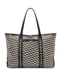 Pierre Hardy - Black Tricolor Perspective Cube Tote - Lyst