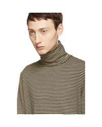 John Elliott - Multicolor Striped Turtleneck Sweater for Men - Lyst