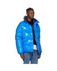 Moncler - Blue Jeanbart Jacket for Men - Lyst