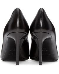 Saint Laurent - Black Paris Skinny Heels - Lyst