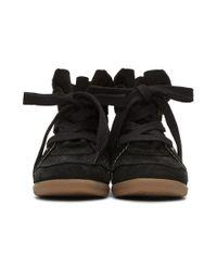 Isabel Marant - Black Bobby Wedge Sneakers - Lyst