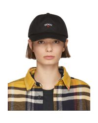 Noah NYC - Black Water-repellent Logo Cap - Lyst