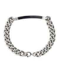 A.P.C. - Blue Silver Poole Bracelet - Lyst