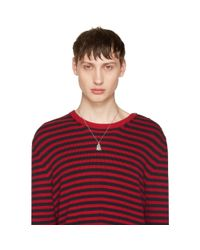 Gucci - Metallic Silver Ghost Necklace for Men - Lyst