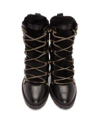 Jimmy Choo - Black Hillary 65 Boots - Lyst