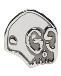 Gucci - Metallic Silver Ghost Ring for Men - Lyst
