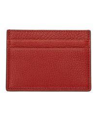 Valentino - Red Garavani Logo Patch Card Holder - Lyst
