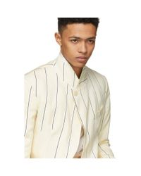 Haider Ackermann - Off-white Kunzite Blazer for Men - Lyst