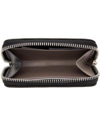 Maison Margiela - Black Compact Zip Around Wallet - Lyst