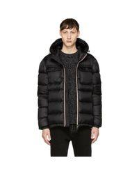 Moncler - Black Down Morane Jacket for Men - Lyst