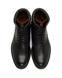 Givenchy - Black Tank Boots for Men - Lyst