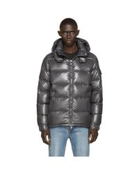 Moncler - Gray Quilted Down Maya Jacket for Men - Lyst