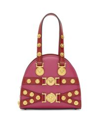 Lyst - Versace Pink And Red Small Tribute Bag 4daf5be610d0a
