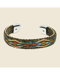 Chamula - Multicolor Bendable Horsehair Bracelet - Brown/multi - Lyst