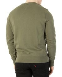 Tommy Hilfiger - Green Four Leaf Clover Basic Sweatshirt for Men - Lyst