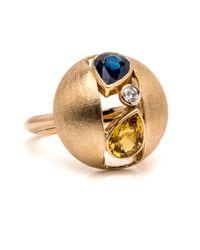 Ana Katarina | Blue Sapphire Ring | Lyst