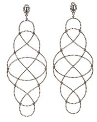 Loree Rodkin - Multicolor Extra Large Articulated Knot Earrings - Lyst