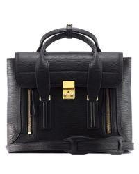 3.1 Phillip Lim | Black Pashli Medium Leather Shoulder Bag | Lyst