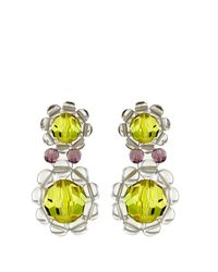 Simone Rocha | Multicolor Chandelier Earrings | Lyst