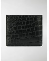 Saint Laurent - Black Classic Paris East/west Leather Wallet for Men - Lyst