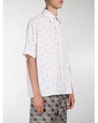 Fendi - Multicolor Martini Print Shirt for Men - Lyst