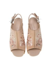 Alexander McQueen - Multicolor Embroidered Clog - Lyst
