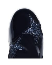 Stella McCartney - Brown Blue Binx Star Loafers - Lyst