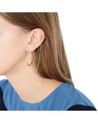 Stella McCartney - Metallic Gold Ring Earrings - Lyst
