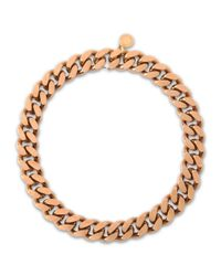 Stella McCartney | Metallic Chain Necklace | Lyst
