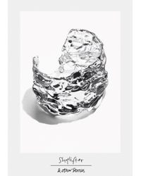 & Other Stories | Metallic Shoplifter Crease Please Bracelet | Lyst