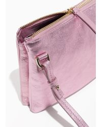 & Other Stories - Pink D-ring Crossbody Bag - Lyst