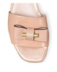 Stuart Weitzman - Natural The Belle Slide Sandal - Lyst