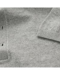Rag & Bone - Gray Mason Grey Polo Shirt for Men - Lyst