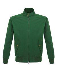 Baracuta   G9 Original Harrington British Race Green Jacket for Men   Lyst