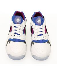 Nike - Air Flight Huarache Low White Shoes for Men - Lyst