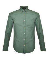 Portuguese Flannel | Blue Casta Olive Ls Shirt for Men | Lyst