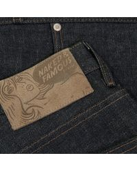 Naked & Famous | Blue Naked And Famous Super Skinny Kapok Indigo Selvedge Denim Jeans for Men | Lyst