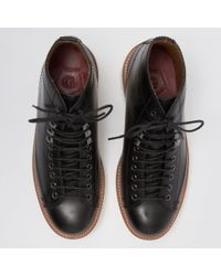 GRENSON - Andy Monkey Boot - Black - Lyst
