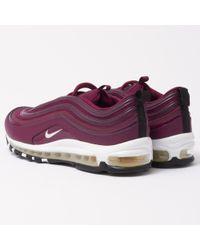 Nike - Purple Air Max 97 Prm - Bordeaux - Lyst