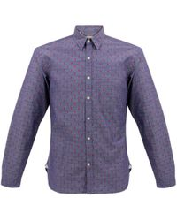 Oliver Spencer | Blue New York Special Aldford Chambray Shirt for Men | Lyst