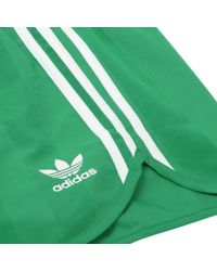 Adidas Originals - Adidas Green Summer Swim Shorts for Men - Lyst