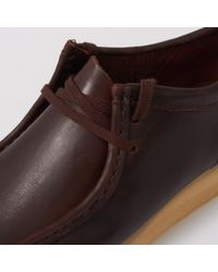 Clarks - Brown Leather Wallabee for Men - Lyst