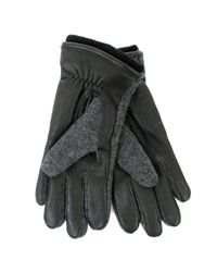 Norse Projects - Gray Norse X Hestra Svante Charcoal Gloves for Men - Lyst