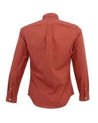 Dockers | Alpha Laundered Orange Shirt for Men | Lyst