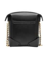 MANU Atelier - Black Micro Pristine Leather Shoulder Bag - Lyst