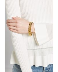 Isabel Marant - Multicolor Chunky Chainlink Bracelet - Lyst
