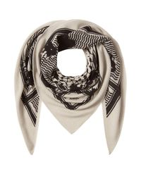 Lala Berlin - Multicolor Printed Cashmere Scarf - Lyst