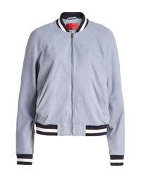 HUGO - Multicolor Leather Jacket - Lyst