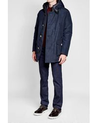Woolrich - Blue Down Arctic Parka for Men - Lyst