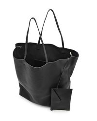 Jil Sander - Black Tidy Leather Tote - Lyst